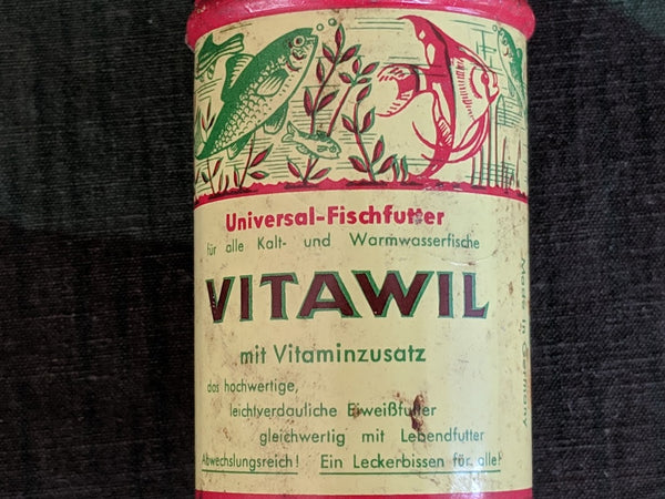 Vitawil Fish Food Container
