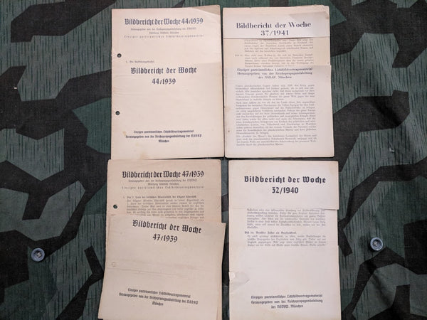 Lot of 10 AS-IS Bildbericht der Woche Pamphlets