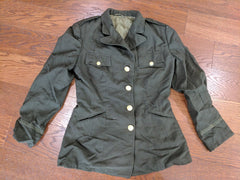 SALE: WAC OD Wool Officer's Tunic 16R/18R (As-Is)