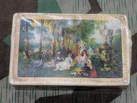 SALE: German Tin with Victorian Scene