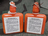 Original Gas Decontamination Bottle with Repro Label