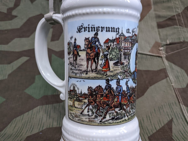 Reproduction Fancy Military Krug