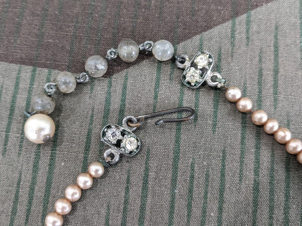German Faux Pearl Necklace
