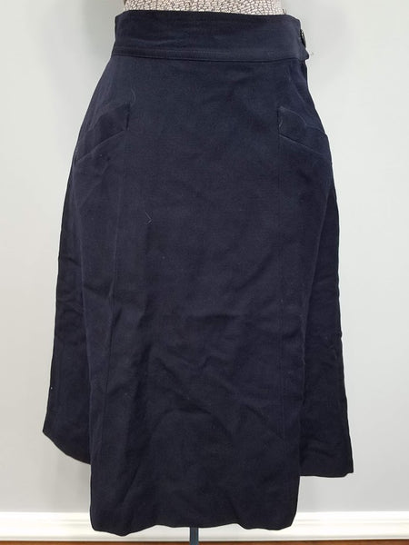 "WAVES Women's Navy Uniform Jacket & Skirt <br> (B-34"" W-24"" H-35"")"