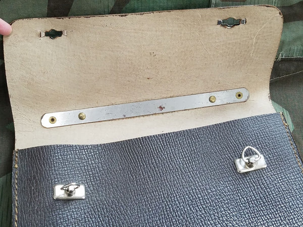 Small Leather Briefcase / Handbag