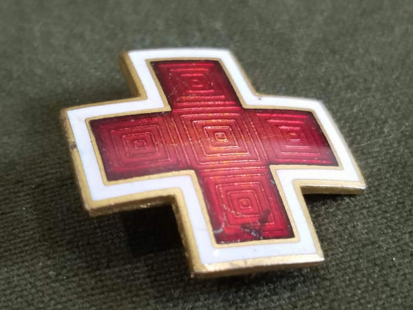 American Red Cross Enamel Pin