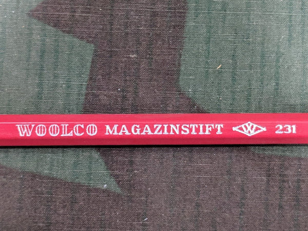 Woolco Magazinstift Red Colored Pencil