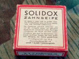WWII German Solidox Tooth Soap
