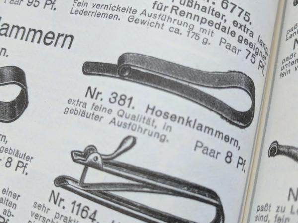 Period German Bicycle Trouser Clips
