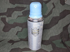 Large Glass German Thermos Blue Cup