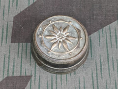 Vintage Pre-WWII German Edelweiss Bicycle Bell Top