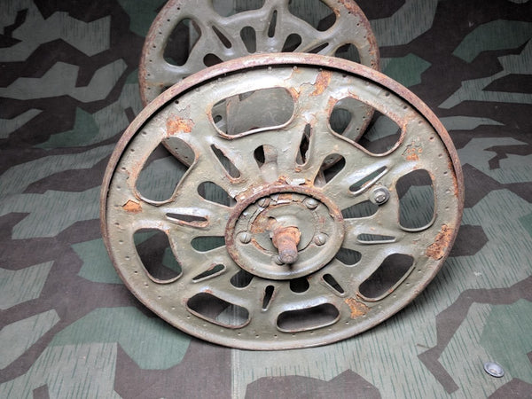 Original German Cable Reel for the Backpack Layer