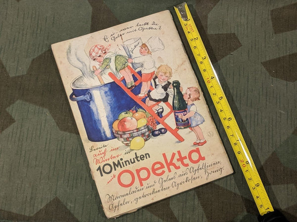 1930s Opekta Dessert Recipes in 10 Minutes