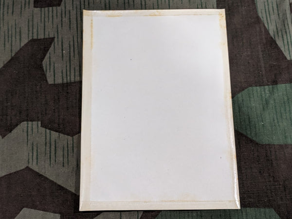 Feldpostbrief Card with Adhesive Edges