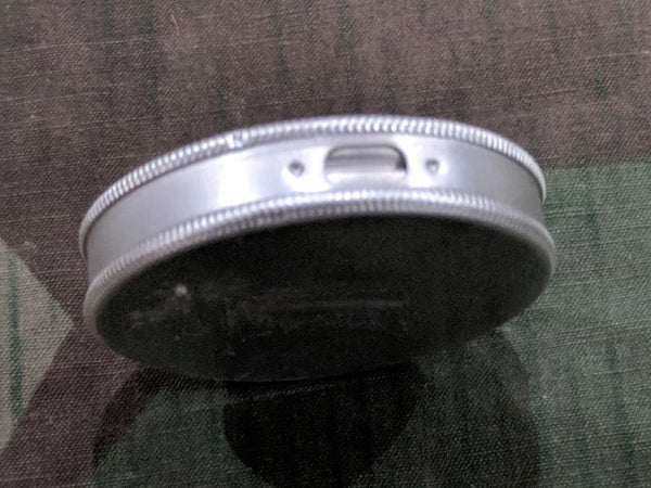 Small Aluminum Snuff Tin