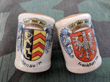Frankfurt / Hanau Beer Krug Salt and Pepper Shakers
