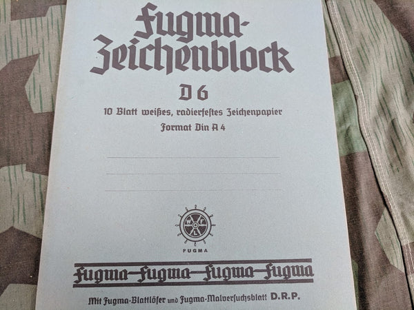 Fugwa-Zeichenblock D.R.P. Drawing Tablet NOS
