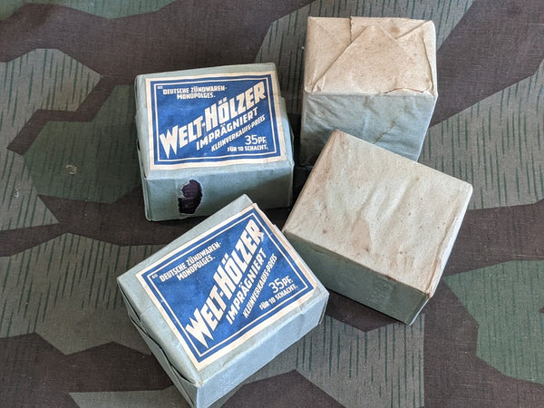 Original WWII German Welt Hölzer Bulk Matches