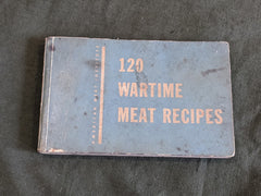 WWII US 120 War Time Meat Recipes