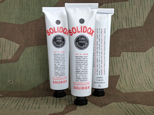 Solidox Toothpaste Tube FULL!