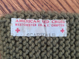 American Red Cross Knit Scarf