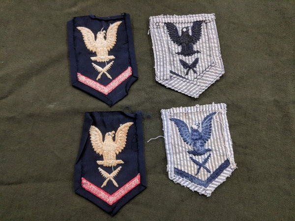 WAVES Yeoman 3rd Class Patches