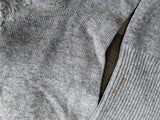 German Gray Heavily Repaired Socks