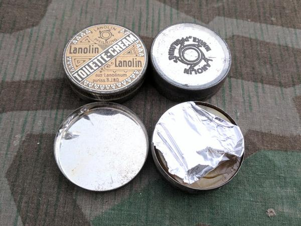 Lanolin Cream Tin (Still Full)