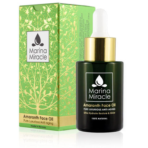Amaranth Face Oil arcolaj dobozban