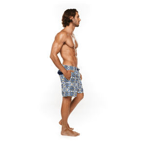 Fit male wearing Amalfi Water Short