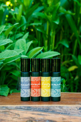 Spirit Blends, Natural Perfumes.