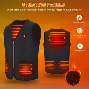 Lightweight USB Heated Vest for Men Women