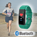 Bluetooth Smart Fitness Tracker & Blood Pressure Monitor - ShoppingZebra