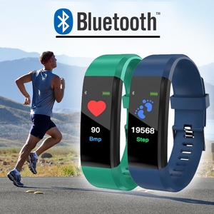 Bluetooth Smart Fitness Tracker & Blood Pressure Monitor