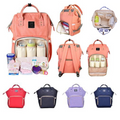 Large Capacity Mommy Waterproof Portable Baby Diaper Bags - ShoppingZebra