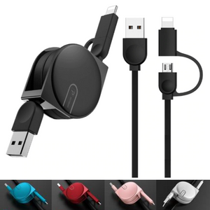 Fast 2 in 1 Micro USB Cable