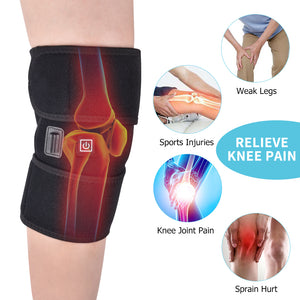 Arthritis Knee Support Brace Infrared Heating Therapy Kneepad for Relieve Knee Joint Pain