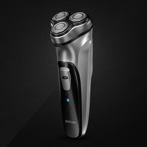 Cordless Wet/Dry Electric Shaver, With Pop-Up Trimmer & Cleaning Brush
