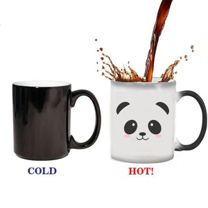 Cute Panda Color Changing Coffee Mug