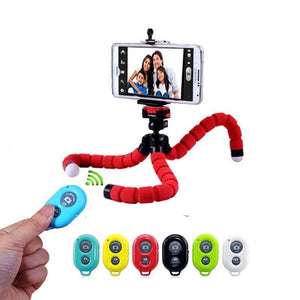 Universal Wireless Bluetooth Flexible Tripod