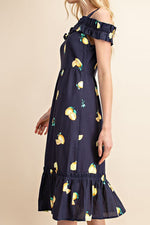 Eloise Sun Dress - Lemon