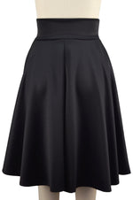 Grace Circle Skirt - Black