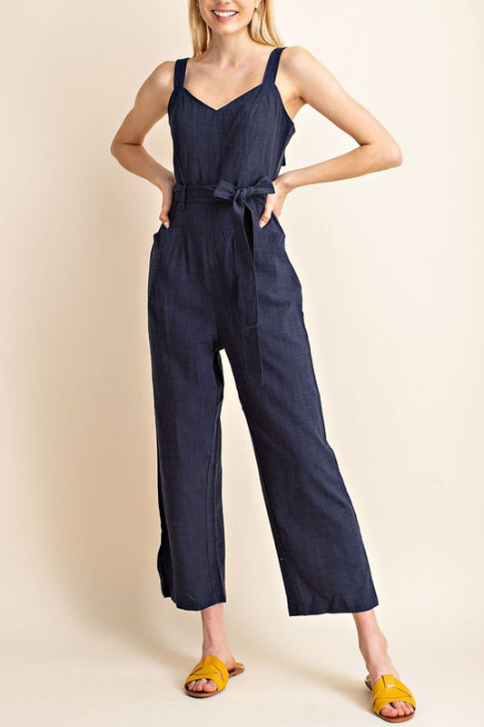 Maya Jumpsuit - Navy Blue
