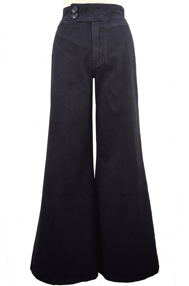 Mia Trouser - Washed Black