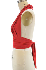 Marilyn Halter Top - Red