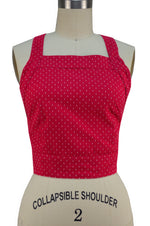 Charlotte Top - Raspberry Red