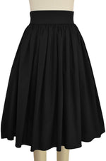 Sara Pocket Skirt - Black