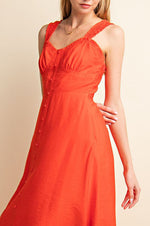 Sydney Sun Dress - Poppy Red