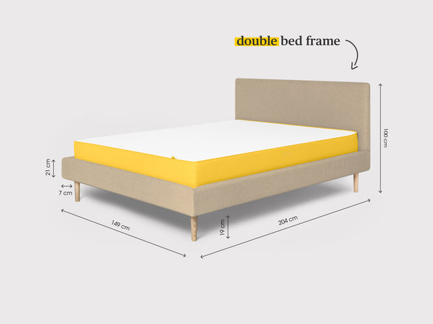 the tailored bed frame