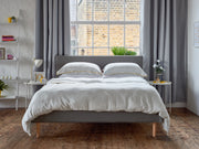 the linen bamboo duvet set
